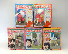 INUYASHA Collection Figure Complete Set of 5 BANDAI JAPAN