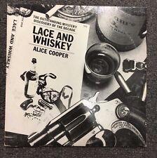 Alice Cooper Lace & Whiskey LP Vinyl 1977 Rock Classic Rock Warner Bros BSK3027
