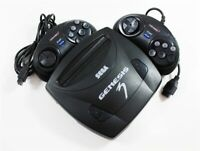 Sega Genesis V3 System Console W/ 2 Controllers - Discounted