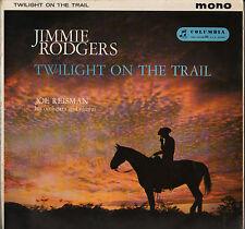 "JIMMIE RODGERS ""TWILIGHT ON THE TRAIL"" POP FOLK LP 1959 COLUMBIA 1217"