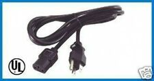 6 ft Power Cord/Cable Desktop PC Printer Copier Fax LED LCD TV Samsung DELL Q12