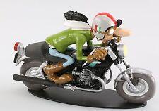 "MOTO 1/18  MOTO GUZZI 750 S JOE BAR TEAM "" AL LASPI  "" RESINE"