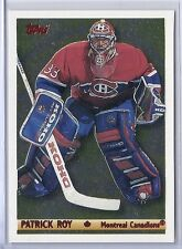 1995-96 TOPPS PATRICK ROY CANADIAN GOLD CANADIENS