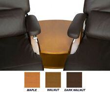 THE NEW PERFECT CHAIR RECLINER WALNUT WOOD WEDGE SPANNER TABLE ONLY