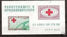 SOUTH KOREA # 296a MNH Red Cross Centenary