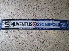 sciarpa NAPOLI - JUVENTUS final coppa italia 2012 football club scarf