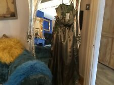 cherlone chest  36 greenmail dress prom party beaded new with tags