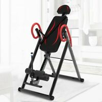 🎄Inversion Table Fitness Chiropractic Back Stretcher Heavy Duty Reflexology Mat