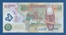 ZAMBIA -- 1000 KWACHA ( 2011 ) -- UNC -- PICK 44h .