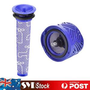 Pre & Post Hepa Filter Kit For Dyson V6 Animal Absolute Cordless Vacuum Cleaner