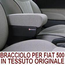 Bracciolo per Premium FIAT 500-in tessuto originale-MADE IN ITALY-appoggiagomito