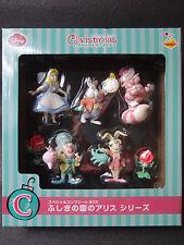 Disney ALICE in WONDERLAND Figure Special Complete Set ORNAMENT Happy Kuji