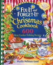 Fix-It and Forget-It Christmas Cookbook : 600 Slow Cooker Holiday Recipes by Ph…