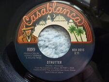 "KISS 45 RPM 7"" - Strutter UNPLAYED RE-RELEASE 2012"