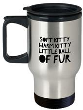 Soft Kitty Big Bang Theory Travel Mug Gift Stainless Steel Insulated Tumbler Mug
