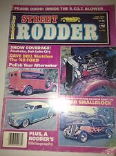Street Rodder Magazine Dave Bell Sketches '48 Ford April 1976 041817nonrh2