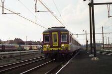 SNCB AM66 662 Merelbecke 6x4 Quality Rail Photo