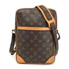 100% Authentic Louis Vuitton Monogram Large Danube Cross body Shoulder Bag/1XHBX