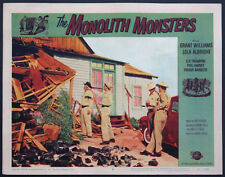 MONOLITH MONSTERS GRANT WILLIAMS SCIENCE FICTION 1957 LOBBY CARD #2