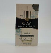 New Olay Regenerist Luminous Facial Oil Daily Treatment 1.3 Oz Free Shipping