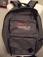 Light Multi Pocket Backpack Gray Laptop Computer Bag Spice World Austin 2016
