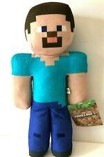 Large Minecraft Plush Steve 14'' Stuffed Animal Toy .NEW. Licensed. Rare