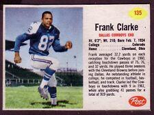 1962 POST FRANK CLARKE CARD NO:135 HAND CUT