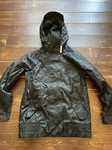Womens Nike Tervist 6.0 Ski Jacket snowboarding Size Small UK 10 Black insulated