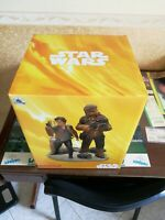 Limited edition 1 to 1400 Han solo e chewbecca starwars diorama disney store
