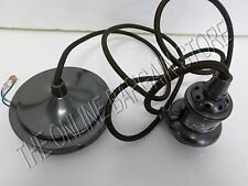 1 Pottery Barn Pendant Cord Light Kit Set Bronze Task Lighting Kitchen Laundry