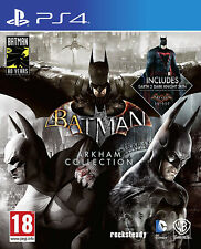 Ps4 Batman Arkham Collection Triple Pack Uncut neu&ovp PlayStation 4