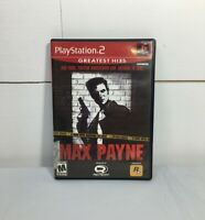 Playstation 2 Sony PS2 Max Payne Greatest Hits Game