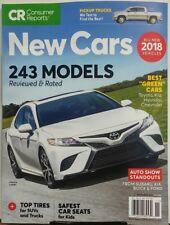 Consumer Reports New Cars Nov 2017 243 Models Reviewed & Rated FREE SHIPPING sb