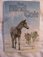 The Blind Colt by Glen Rounds (Paperback)