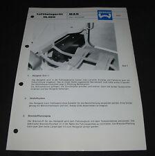 Technische Information Webasto Luftheizgerät HL 2011 MAN LKW Kurzhauber!