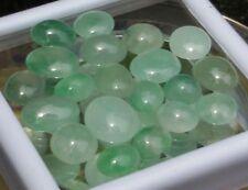 20 Burmese Jadeite (A) Jade Cabochons-approx.58.82 carats Avg.10x9x4mm-3 cts