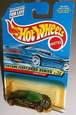Hot Wheels 2000 Future Fleet Series #1 of 4 Ford GT-90 Black Green China WSPs