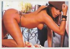 Postcard Pinup Risque Nude Stunning Girl Extremely Rare LAST ONE Post Card 9723