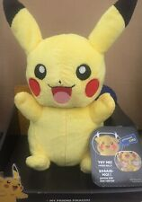 Pikachu Stuffed Animal Toys For Kids TOMY Rare Lights And 10 Sounds Phrases New