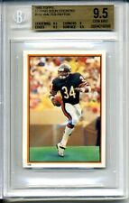 1985 TOPPS WALTER PAYTON #156 COMING SOON BGS 9.5 Chicago Bears 9.5X3 SUBS