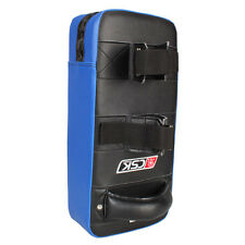 "16"" Muay Thai Karate MMA Taekwondo Boxing Kick Punching Bag Pad Foot Target Blue"