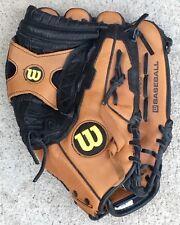 Wilson A0600 Baseball Glove Right Hand Thrower Ecco Leather 12 1/2 Mitt A600 X