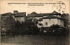 CPA  Saint-Bernard - Cefé Restaurant Bibet - Jeux de boules - Tonnelles (485934)