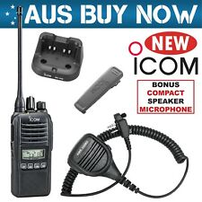 ICOM IC-41PRO 5W CB UHF TWO WAY RADIO IC 41 PRO PORTABLE HANDHELD HAND HELD WORK