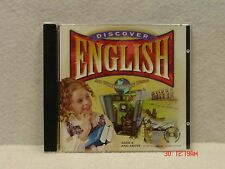 Cd Rom Discover English - Ages 9 & up - Ibm