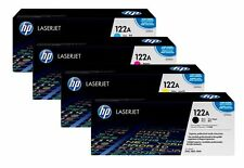 Kit Original 4 Toner HP 122A - Noir-Bleu-Jaune-Rouge - Rendement -5 à 4000 page