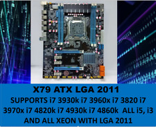 SALE Intel X79 Motherboard LGA2011 ATX DDR3 or ECC USB 3.0 SLI/CROSSFIR I7/XEON