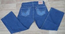 "Levi's Type 1 Real Loose Faded Dark Blue Mens Levi's Jeans Waist 36"" Leg 30"""