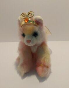 """Aurora Catapillers Colorful Butterfly Cat Kitten 10"""" Plush Sharon Lea Larsen"""