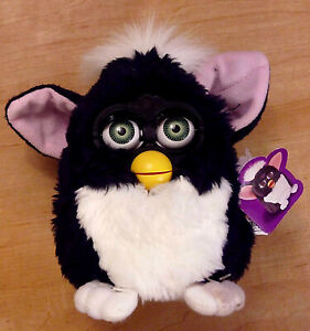 Furby 70-800 Electronic Interactive Toy CIB w/ Manual, Dictionary & Quick Start